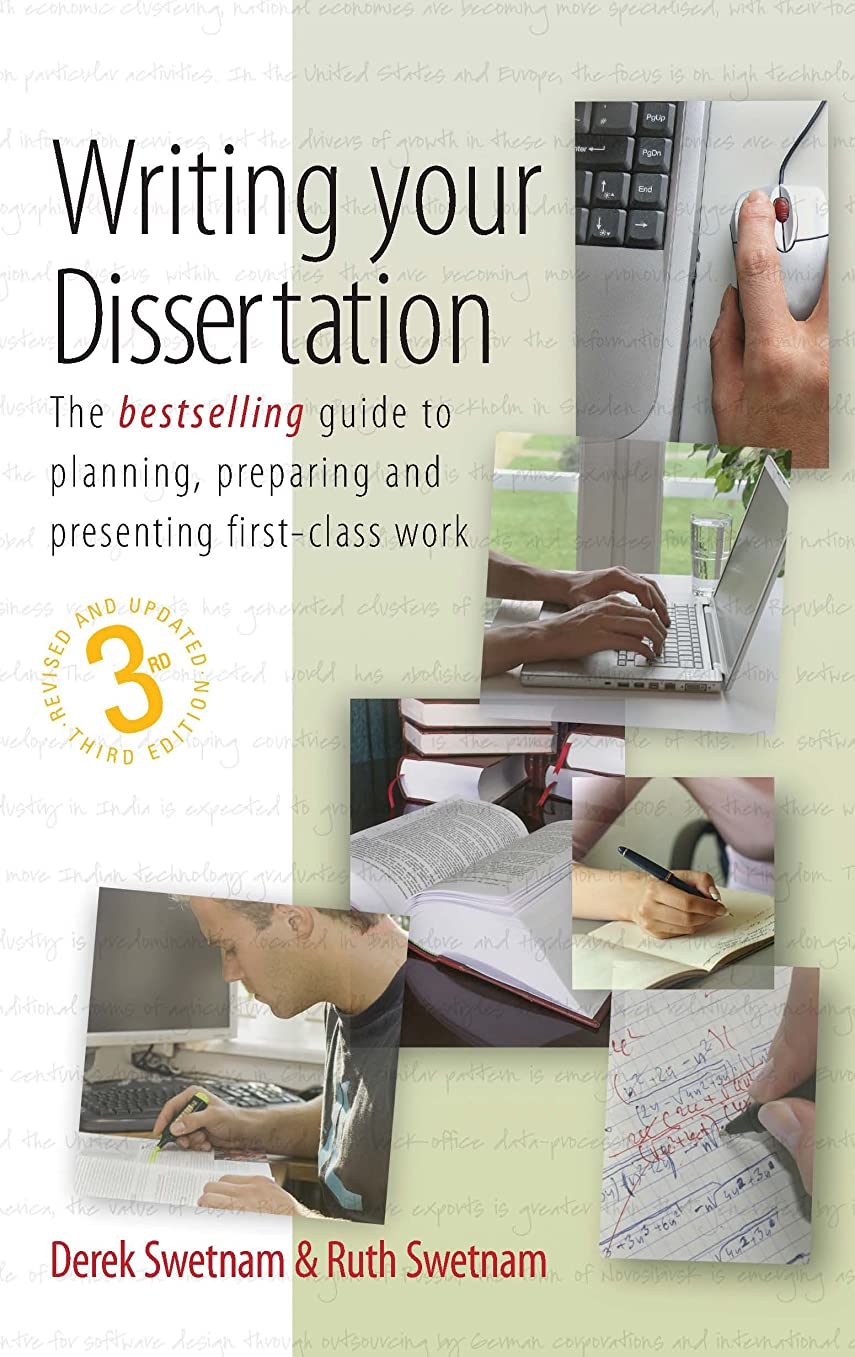 オートメーション審判リストWriting Your Dissertation, 3rd Edition: The bestselling guide to planning, preparing and presenting first-class work (The How to Series) (English Edition)