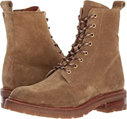 Frye - Julie Lace-Up Combat w/ Inside Zip