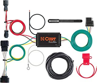 CURT 56321 Vehicle-Side Custom 4-Pin Trailer Wiring Harness for Select Kia Sportage
