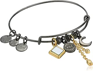 Alex and Ani Evil Eye Cluster Bangle, Two-Tone