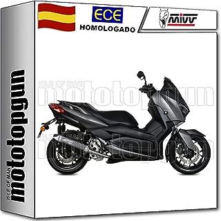 Tubo de escape sistema de escape completo de la motocicleta Tubo Midlle delantero para X-MAX 300 2017-2018