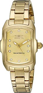Invicta Women's 15849 Lupah Analog Display Quartz Gold Watch