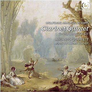 モーツァルト : クラリネット五重奏曲 | 弦楽四重奏曲 第15番 (Wolfgang Amadeus Mozart : Clarinet Quintet | String Quartet K.421 / Arcanto Quartett, J...