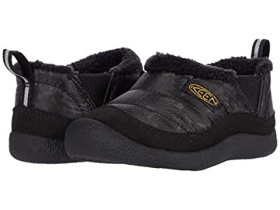 KEEN Kids Howser II (Toddler) (Black/Keen Yellow) Boy