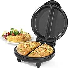 Salter EK2716 Non-Stick Dual Omelette Maker, 750 W , Black