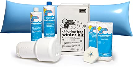 In The Swim Winterizing and Closing Chemical Kit Bundle with 4 x 8 Foot Air Pillow