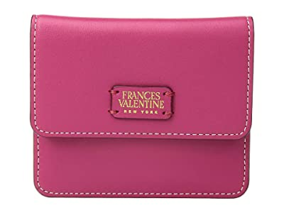 Frances Valentine Coin Purse/Credit Card Wallet (Pink/Red) Wallet Handbags