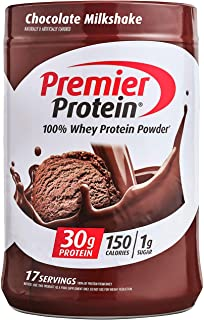 Premier Protein Whey Protein Powder, Chocolate, 24.5 Ounce