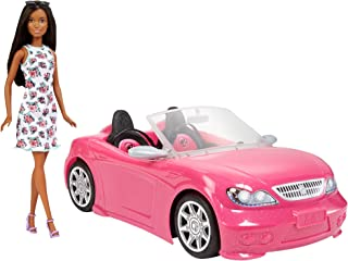Barbie Doll & Convertible Vehicle Doll & Car