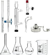 کیت تقطیر میکرو شیشه ای 25ml - 9 قطعه - آزمایشگاه های ایسکو