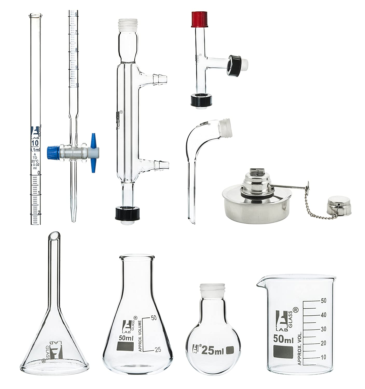 25ml Micro Glass Distillation Kit - Labs Pieces 9 Eisco 55% Ranking TOP13 OFF