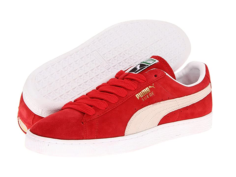 PUMA Suede Classic (High Risk Red/White) Shoes