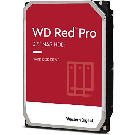 【国内正規代理店品】WD HDD 内蔵ハードディスク 3.5インチ 4TB WD Red Pro WD4003FFBX SATA3.0 7200rpm 256MB 5年保証