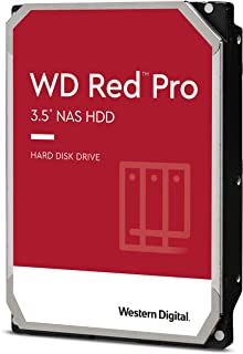 "Western Digital WD8003FFBX Red Pro 8TB 3.5"" NAS HDD SATA3 7200RPM 256MB Cache 24x7 NASware 3.0 CMR Tech 5yrs wty"