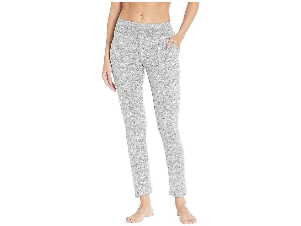Jockey Active Warm Cozy Sweatpants (White/Grey) Women