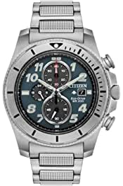 Citizen Men's Promaster Quartz Watch with Stainless Steel Strap, Silver, 22 (Model: CA0720-54H) 4.1 out of 5 stars 21