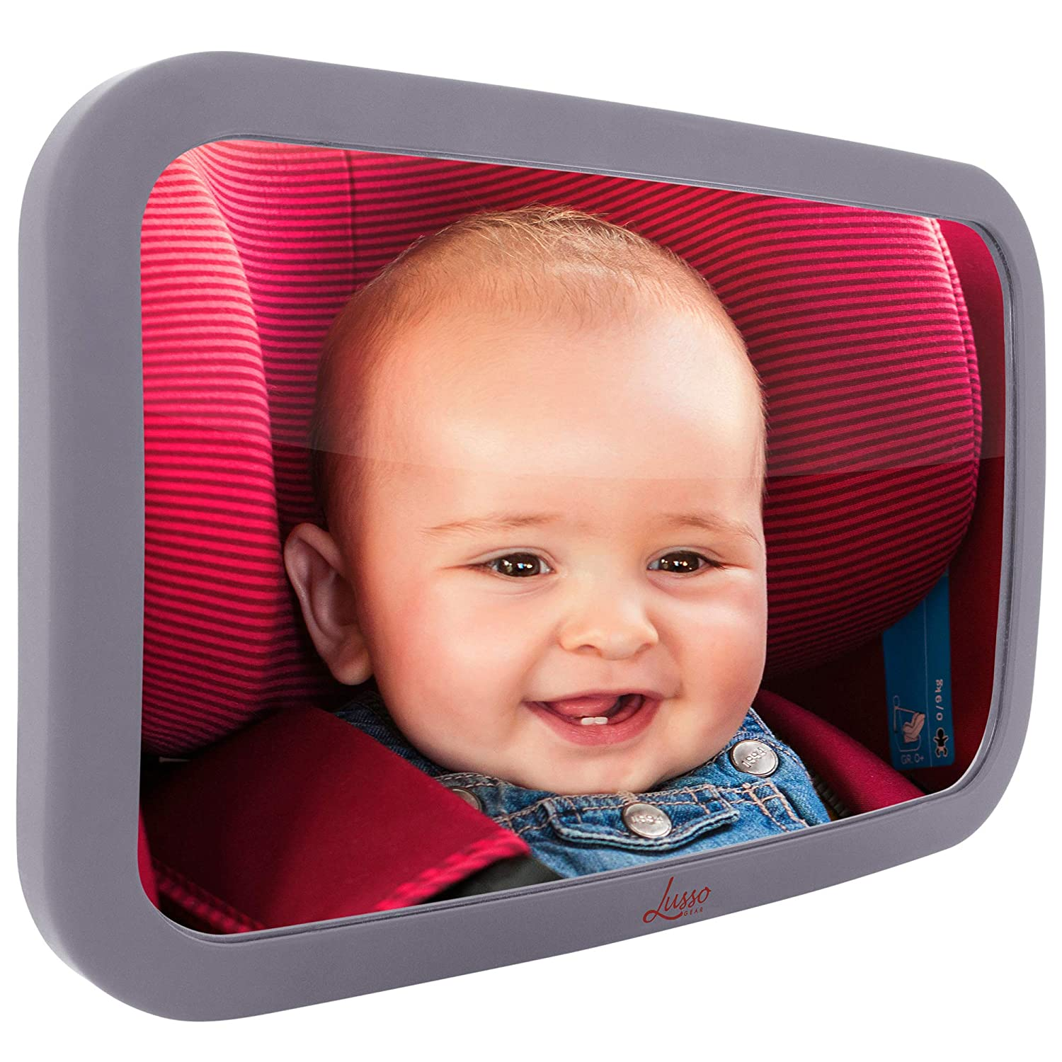 Lusso Gear Baby Backseat Mirror for and Largest - Car Most Ranking TOP20 Special price for a limited time Stabl
