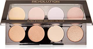 Makeup Revolution Ultra Strobe and Light Palette Paleta do konturowania twarzy 15g