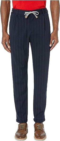 Chalk Stripe Jogger Pants