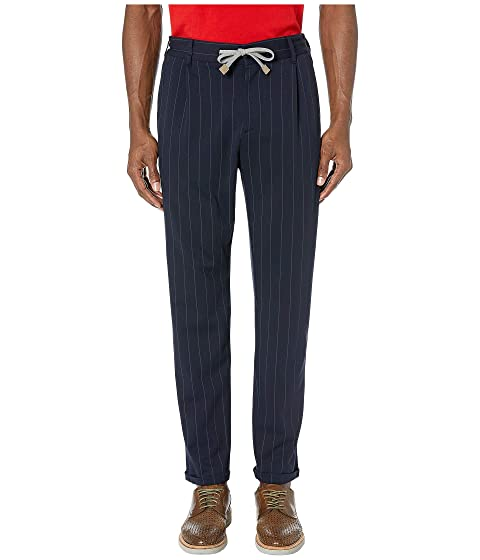 eleventy Chalk Stripe Jogger Pants