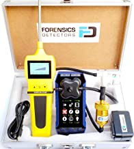 Professional Combustion Analyzer by Forensics | Residential Flue Gas Analyzer | CO, O2, COAF & EA | Water Trap, Particle & NOx Filters | USB Recharge | Color Display, Graphing & Alarm-Logging |