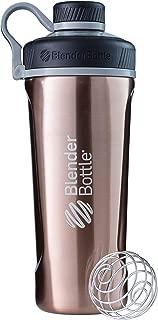 BlenderBottle Radian Insulated Stainless Steel Shaker Bottle, Copper, 26-Ounce - C02092