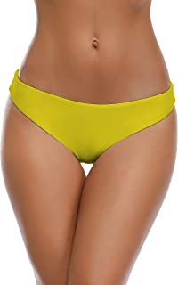 Lanmiya Triangle Bikini Bottom Low Rise Bikini Panties Swim Shorts Briefs