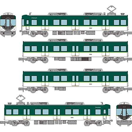 トミーテック 鉄道コレクション 鉄コレ 京阪電気鉄道13000系 4両セット B ジオラマ用品 (メーカー初回受注限定生産) 318293