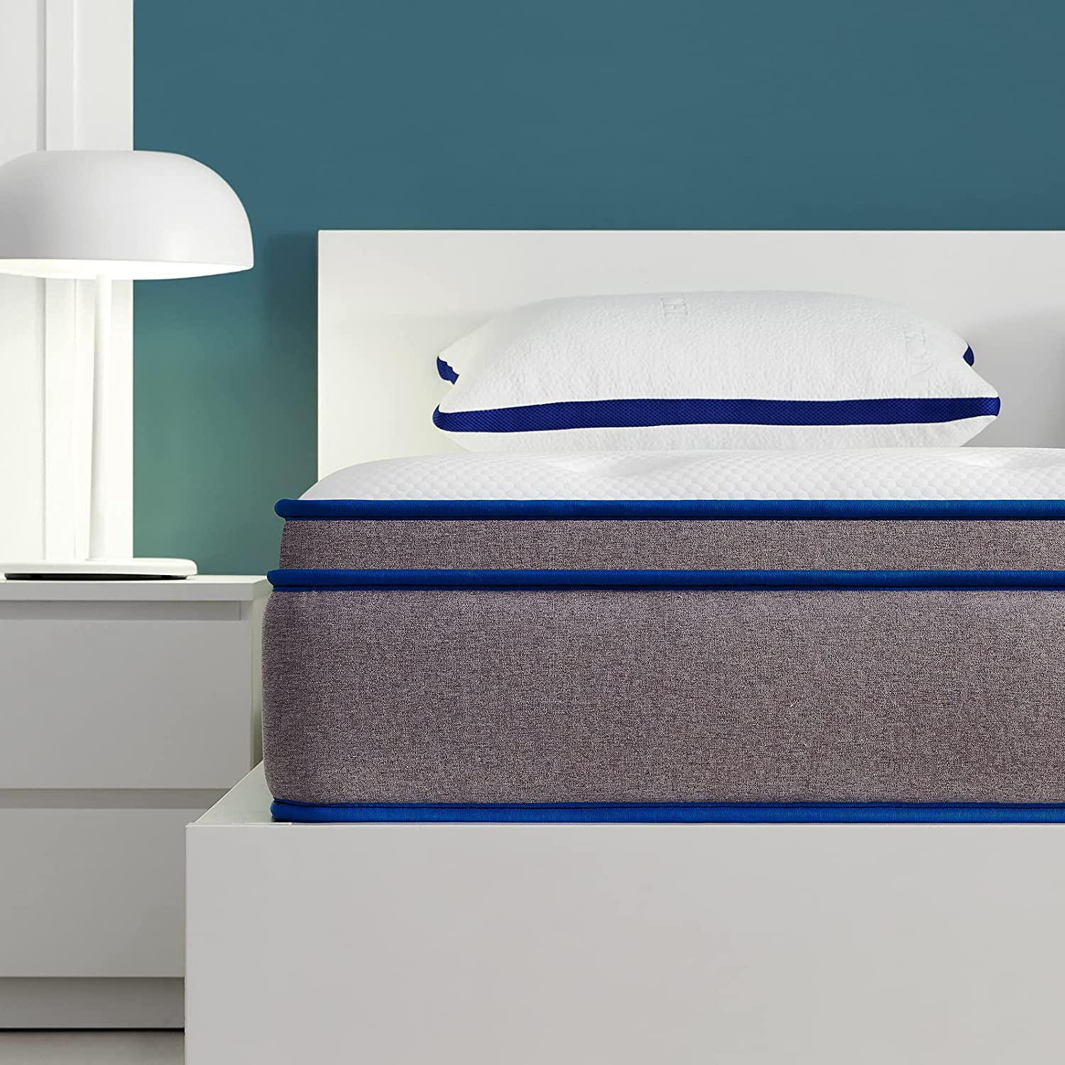 Full Mattress IYEE NATURE 12 Wrapped Individually quality assurance In inch 4 years warranty Coils