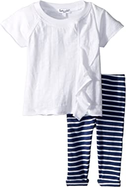 Splendid Littles Stripe Leggings Set (Infant)