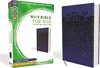 NIrV, Bible for Kids, Large Print, Leathersoft, Blue, Comfort Print: Thinline Edition PDF