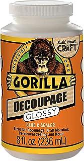 Gorilla 101819 Decoupage Gloss, 1-Pack, Clear