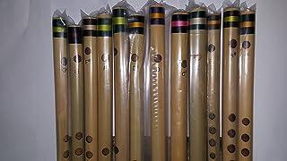 Premium Indian Flute Set 6 Holes, 12 Flutes