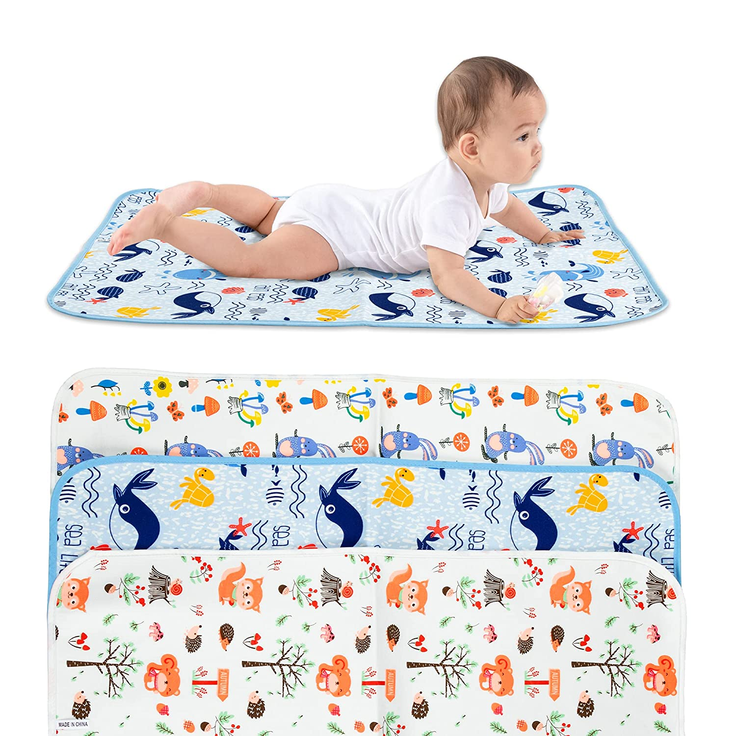 ODDA Portable Diaper Change Pad Special Campaign -19.7 Popular product 27.6 Waterproof X inches F