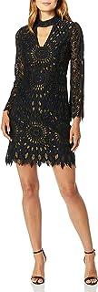 فستان ترينا تورك سنترال للنساء بياقة طويلة الاكمام