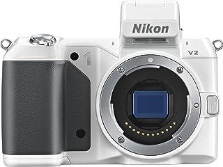 Nikon ミラーレス一眼 Nikon 1 V2 ボディー ホワイト N1V2WH