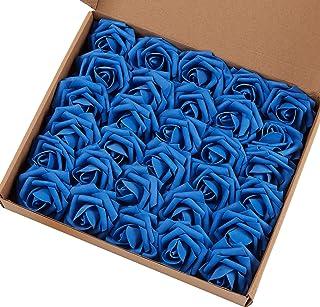 Amazon Com Blue Artificial Flowers Artificial Plants Flowers