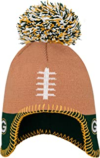 OuterStuff NFL Boys Football Head Knit Hat