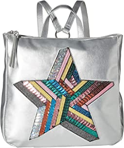 Sequin Star Backpack