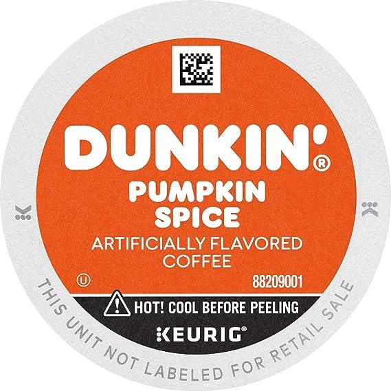 Dunkin' Donuts Pumpkin Spice Flavored Coffee