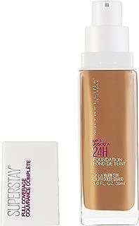 Maybelline Super Stay Full Coverage Liquid Foundation Makeup, Warm Sun, 1 Fl Oz