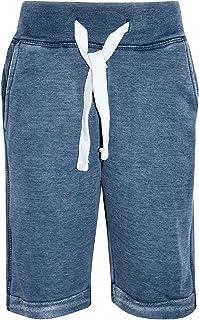 Boys Shorts Kids Fleece Blue Chino Short Knee Length Half Pant New Age 3-13 Year