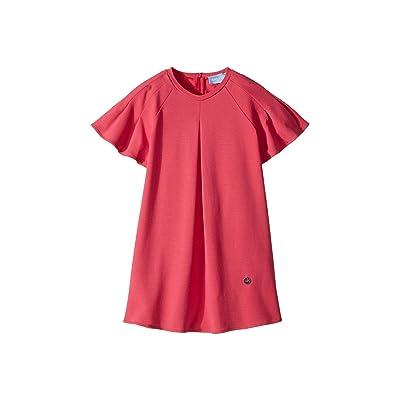 Lanvin Kids Jersey Flare Dress (Toddler/Little Kids) (Hot Pink) Girl