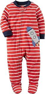 Carters Baby Boys 1 Pc Fleece 327g106 (8, Rocket Ship)