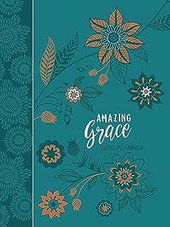 Amazing Grace (2020 Planner): 16-Month Weekly Planner (Ziparound)