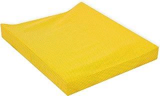 Coton couleur jaune /Drap 80/x 140/cm pirulos 40900045/