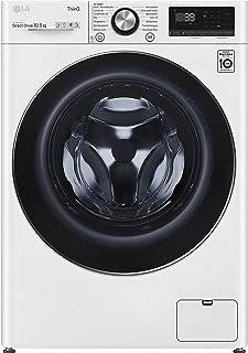 LG F6WV910P2 Waschmaschine, weiß/schwarz, AI DD, Steam, TurboWash 360°