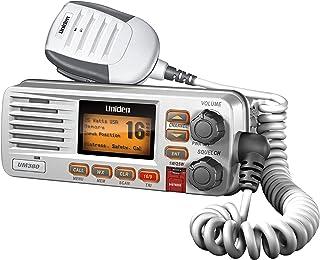 Uniden Class D Full-Feature Fixed Mount VHF Marine Radio - White (UM380)