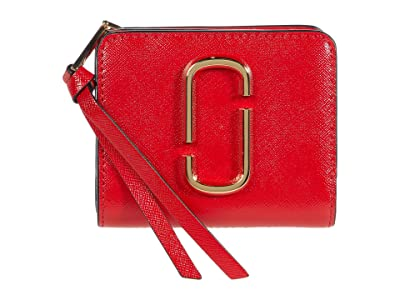 Marc Jacobs Snapshot Solid Mini Compact Wallet (Red) Wallet Handbags