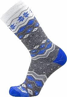 Pure Athlete Kids Ski Socks – Warm Skiing Snowboard Sock for Boys and Girls, Merino Wool